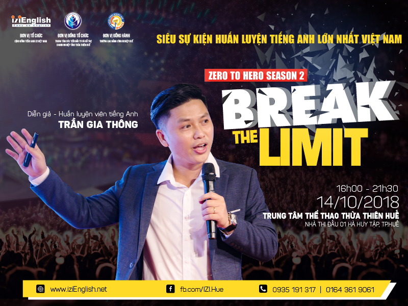 Đăng kí tham gia Zero To Hero mùa 2 - Break The Limit