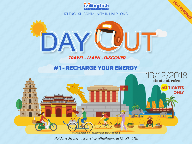 [IZI Hải Phòng] DAY OUT 1: RECHARGE YOUR ENERGY